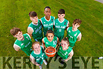 Kerry members of the Irish Basketball teams, pictured at Tralee Sports Complex on Friday evening last. Front from left: Siofra O'Shea, Tania Salvado and Paris McCarthy. Back from Left: Sean Pollmann-Daamen, Rapolas Buivydas,, Leeroy Odiahi, Dáire Kennelly, Tim Pollmann-Daamen.