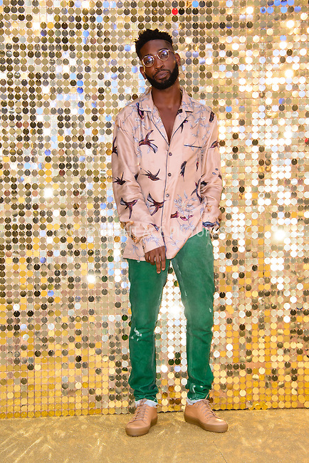 www.acepixs.com<br /> <br /> June 29 2016, London<br /> <br /> Tinie Tempah arriving at the World Premiere of 'Absolutely Fabulous: The Movie' at the Odeon Leicester Square on June 29, 2016 in London, England<br /> <br /> By Line: Famous/ACE Pictures<br /> <br /> <br /> ACE Pictures Inc<br /> Tel: 6467670430<br /> Email: info@acepixs.com<br /> www.acepixs.com