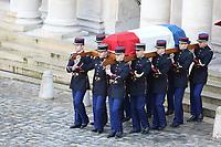 Hommage National ‡ JEAN D'ORMESSON - 08/12/2017 - Hotel des Invalides - Paris - France