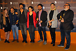 51 Festival Internacional de Cinema Fantastic de Catalunya-Sitges 2018.<br /> Blood Red Carpet.<br /> Alexandra Prokhorova, Kolso Serra, Hugo Silva, Nahikari Ipi&ntilde;a, Pere Braso, Carolina Bang &amp; Alex de la Iglesia.