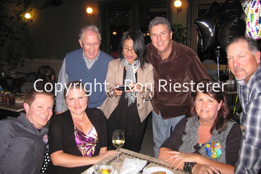 Kelli's birthday??Nick & Ali, Tom, Vena & Craig, Kelli & Todd..