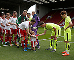 Mascot introduced to the teams during the PDL U21 Final at Bramall Lane Sheffield. Photo credit should read: Simon Bellis/Sportimage