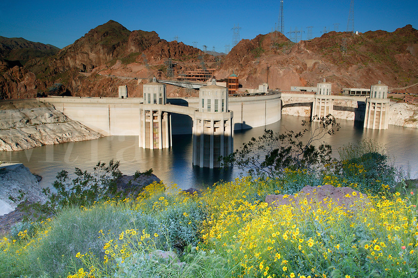 Hover Dam, Lake Mead Recreation Area, Nevada