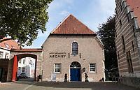 Nederland - Bergen op Zoom -  16 september 2018.  Het West-Brabants Archief bij het Markiezenhof.  Foto Berlinda van Dam / Hollandse Hoogte
