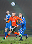 St Johnstone v Dundee United....22.02.11 .David Goodwillie and Steven Anderson.Picture by Graeme Hart..Copyright Perthshire Picture Agency.Tel: 01738 623350  Mobile: 07990 594431