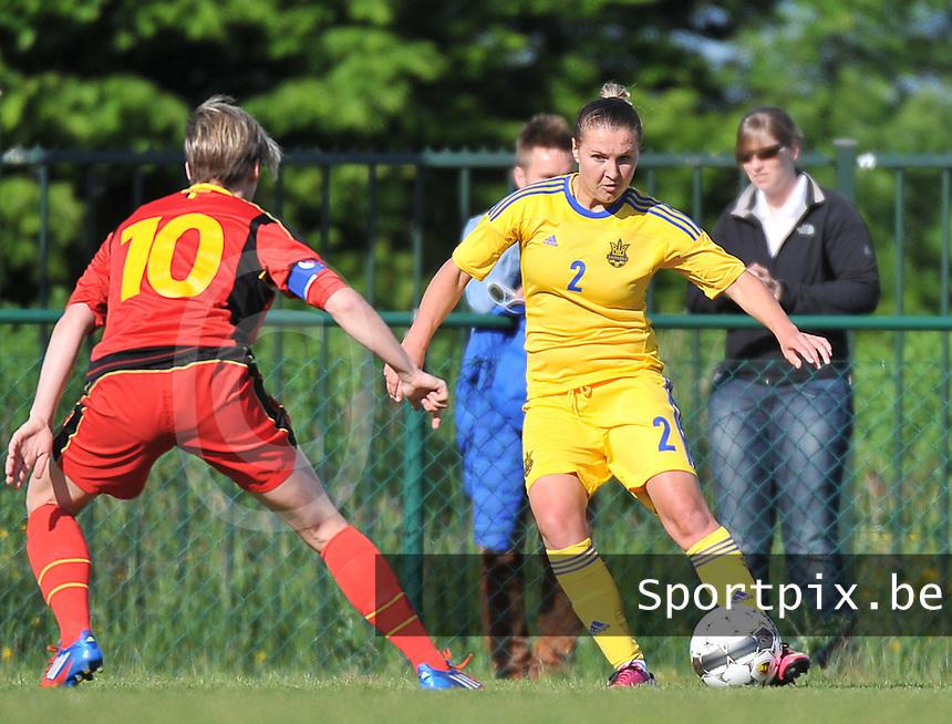 Belgium - Ukraine : Olga Basanska<br /> foto DAVID CATRY / Nikonpro.be