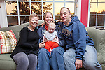 Stacy Jacobson Cloutier, Jimmy Cloutier, Annabel Cloutier, Donna Jacobson