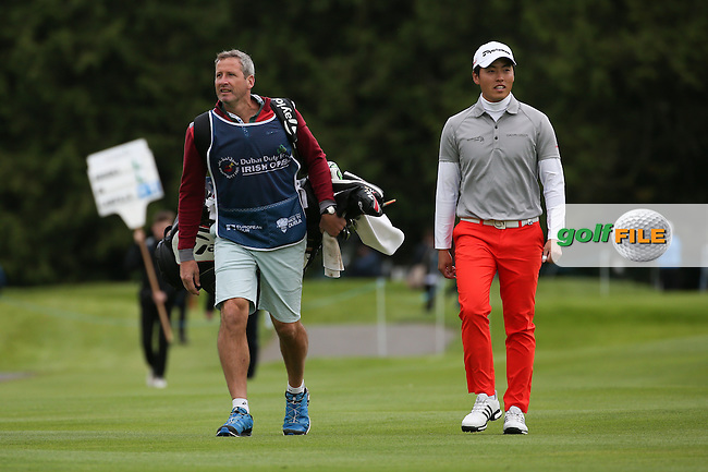 Daniel Im (USA) during Round One of the 2016 Dubai Duty Free Irish Open Hosted by The Rory Foundation which is played at the K Club Golf Resort, Straffan, Co. Kildare, Ireland. 19/05/2016. Picture Golffile | David Lloyd.<br /> <br /> All photo usage must display a mandatory copyright credit as: &copy; Golffile | David Lloyd.