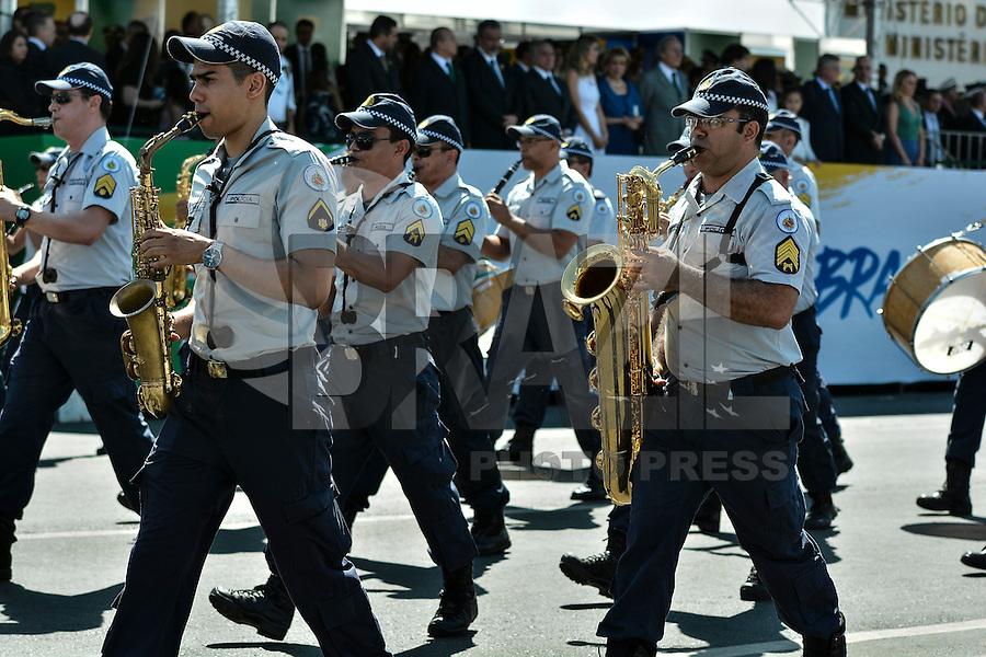 BRASÍLIA, DF, 07.09.2016 – DIA-INDEPENDÊNCIA – Desfile em comemoração a Independência do Brasil na Esplanada dos Ministérios em Brasília, na manhã desta quarta-feira, 07. (Foto: Ricardo Botelho/Brazil Photo Press)