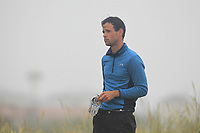 Paul Coughlan (Castleknock) on the 1st tee during Round 1 - Matchplay of the North of Ireland Championship at Royal Portrush Golf Club, Portrush, Co. Antrim on Wednesday 11th July 2018.<br /> Picture:  Thos Caffrey / Golffile