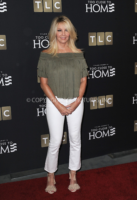 www.acepixs.com<br /> <br /> August 16 2016, New York City<br /> <br /> Actress Heather Locklear arriving at a screening of 'Too Close To Home' at The Paley Center for Media on August 16, 2016 in Beverly Hills, California.<br /> <br /> By Line: Peter West/ACE Pictures<br /> <br /> <br /> ACE Pictures Inc<br /> Tel: 6467670430<br /> Email: info@acepixs.com<br /> www.acepixs.com
