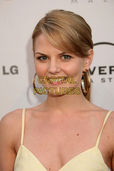 JENNIFER MORRISON .Universal Media Studios Emmy Party at LG House, Malibu, California, USA..August 2nd, 2007.headshot portrait gold hoop earrings.CAP/ADM/BP.©Byron Purvis/AdMedia/Capital Pictures