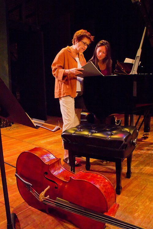 Centrum, Chamber Music Workshop, Fort Worden, June 16-21 2015, Lucinda Carver, teaching workshop artists, Pauline Yang, pianist, Port Townsend, Pacific Northwest, Washington State,