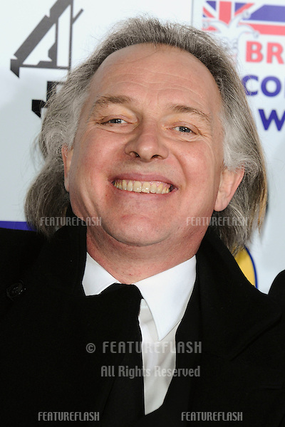 Rik Mayall arriving for the British Comedy Awards 2011 at Fountains Studios, Wembley, London. 19/12/2011 Picture by: Steve Vas / Featureflash