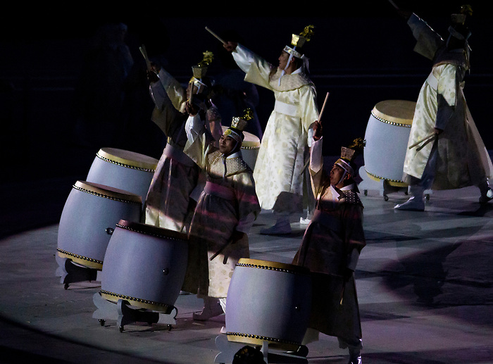 PyeongChang 9/3/2018 - Highlights from the opening ceremony of the 2018 Winter Paralympic Games in Pyeongchang, Korea. Photo: Dave Holland/Canadian Paralympic Committee