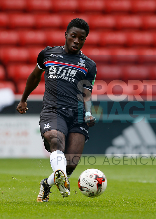 Levi Lumeka of Crystal Palace Levi Lumeka of Crystal Palace during the Professional Development U23 match at Bramall Lane, Sheffield. Picture date 4th September 2017. Picture credit should read: Simon Bellis/Sportimage