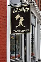 Baseball town, Cooperstown, New York, USA