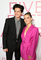 LOS ANGELES, CA - MARCH 7: Cole Sprouse, Haley Lu Richardson, at The Premiere Of Lionsgate's &quot;Five Feet Apart&quot; at The Fox Bruin Theatre in Los Angeles, California on March 7, 2019. <br /> CAP/MPI/SAD<br /> &copy;SAD/MPI/Capital Pictures