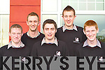 Allan Reen, Stephen Brosnan, Niall Marshall, Chris Brosnan and Neil O'Leary from Killarney Community College who were honoured at the schools awards night in the Dromhall Hotel Killarney on Saturday night     Copyright Kerry's Eye 2008