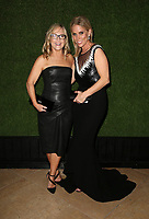 BEVERLY HILLS, CA - JANUARY 7: Rachael Harris, Cheryl Hines, at 75th Annual Golden Globe Awards_Roaming at The Beverly Hilton Hotel in Beverly Hills, California on January 7, 2018. <br /> CAP/MPIFS<br /> &copy;MPIFS/Capital Pictures