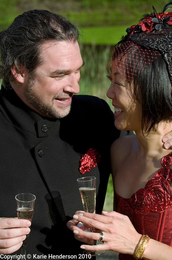 The wedding of Jeff Wishnie and Denise Luk in Glen Ellen, Calif., on Saturday, May 15, 2010. © Karie Henderson 2010