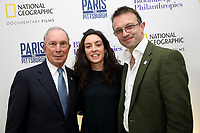 "LONDON, UK - DECEMBER 11: Michael Bloomberg with guests attend the London Premiere of Bloomberg and National Geographic's ""Paris to Pittsburgh"" at the BAFTA Theatre on December 11, 2018 in London, UK. (Photo by Vianney Le Caer/National Geographic/PictureGroup)"