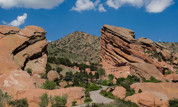 Red Rocks Amphitheater and Park, just west of Denver. John offers private photo tours of Denver, Boulder and Rocky Mountain National Park. .  John offers private photo tours in Denver, Boulder and throughout Colorado. Year-round.