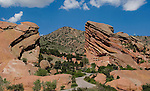 Red Rocks Amphitheater and Park, just west of Denver. John offers private photo tours of Denver, Boulder and Rocky Mountain National Park. .  John offers private photo tours in Denver, Boulder and throughout Colorado. Year-round. Denver private tours.
