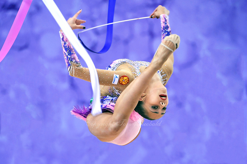 September 25, 2014 - Izmir, Turkey - RITA MAMUN of Russia performs at 2014 World Championships.