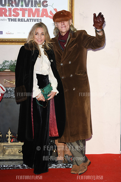 "LONDON, UK. November 21, 2018: Sir Bob Geldof at the ""Surviving Christmas with the Relatives"" premiere at the Vue Leicester Square, London.<br /> Picture: Steve Vas/Featureflash"