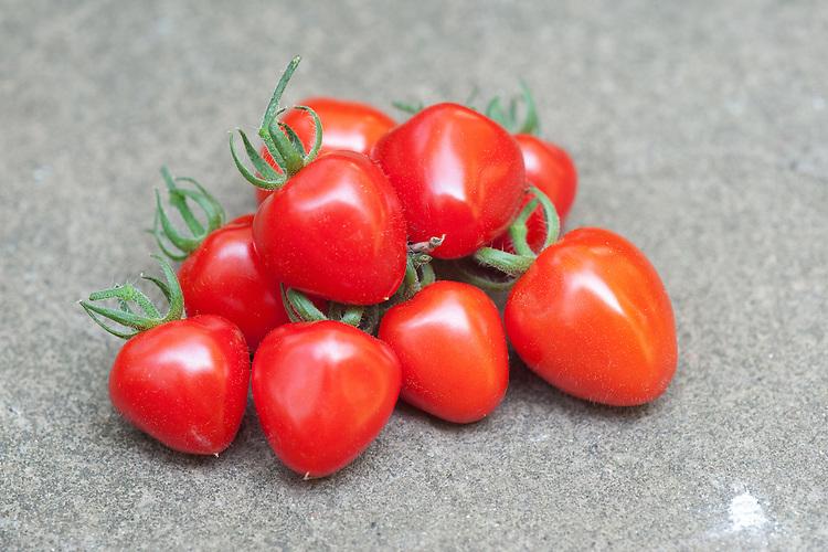 Tomato 'Tomatoberry', mid August.