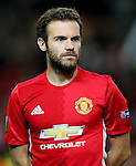 Juan Mata of Manchester United during the UEFA Europa League match at Old Trafford Stadium, Manchester. Picture date: September 29th, 2016. Pic Matt McNulty Sportimage