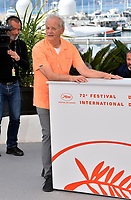 CANNES, FRANCE. May 15, 2019: Bill Murray at the photocall for &quot;The Dead Don't Die&quot; at the 72nd Festival de Cannes.<br /> Picture: Paul Smith / Featureflash