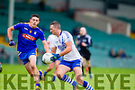 Paul O'Donoghue Saint Marys in action against Keith McCabe Ratoath in the Semi Final of the Intermediate Club Championship at the Gaelic Grounds in Limerick on Sunday.