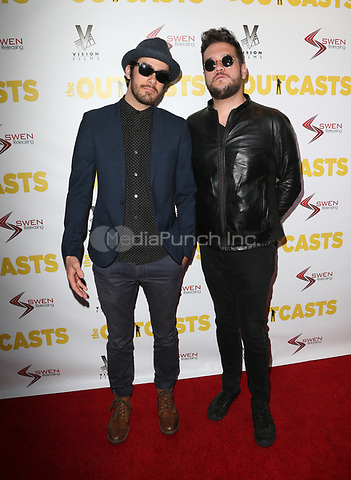 "WESTWOOD, CA - April 13: Peter Daily, William Henry, At Premiere Of Swen Group's ""The Outcasts"" At The Landmark Regent  In California on April 13, 2017. Credit: FS/MediaPunch"