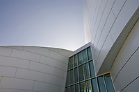 University of Alaska Museum of the North in the final stages of construction, Fairbanks, Alaska