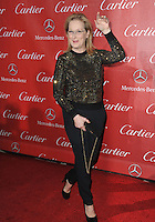Meryl Streep at the 2014 Palm Springs International Film Festival Awards gala at the Palm Springs Convention Centre.<br /> January 4, 2014  Palm Springs, CA<br /> Picture: Paul Smith / Featureflash