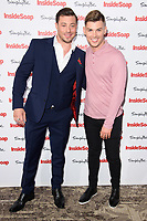 Duncan James &amp; Kieron Richardson at the Inside Soap Awards 2017 held at the Hippodrome, Leicester Square, London, UK. <br /> 06 November  2017<br /> Picture: Steve Vas/Featureflash/SilverHub 0208 004 5359 sales@silverhubmedia.com