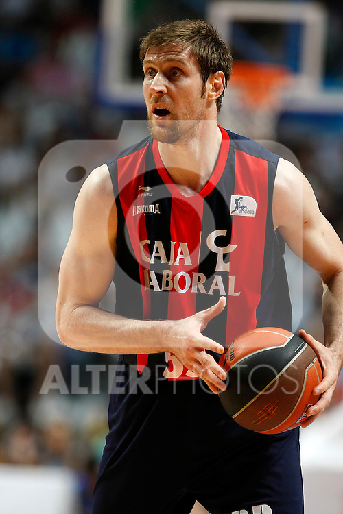 Caja Laboral´s Andres Nocioni during La Liga ACB Playoffs semifinal last match, Madrid 2012/June/02..(ALTERPHOTOS/ARNEDO)