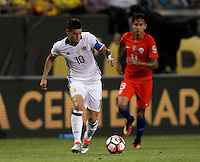 CHICAGO - UNITED STATES, 22-06-2016: James Rodriguez Jugador de Colombia  durante partido por la semifinal  entre Colombia (COL) y Chile (CHI)  por la Copa América Centenario USA 2016 jugado en el estadio Soldier Field en Chicago, USA.  /  James Rodriguez Player of Colombia (COL)  during a match for the semifinal between Colombia (COL) and Chile  (CHI) for the Copa América Centenario USA 2016 played at Soldier Field  stadium in Chicago, USA. Photo: VizzorImage/ Luis Alvarez /Cont.