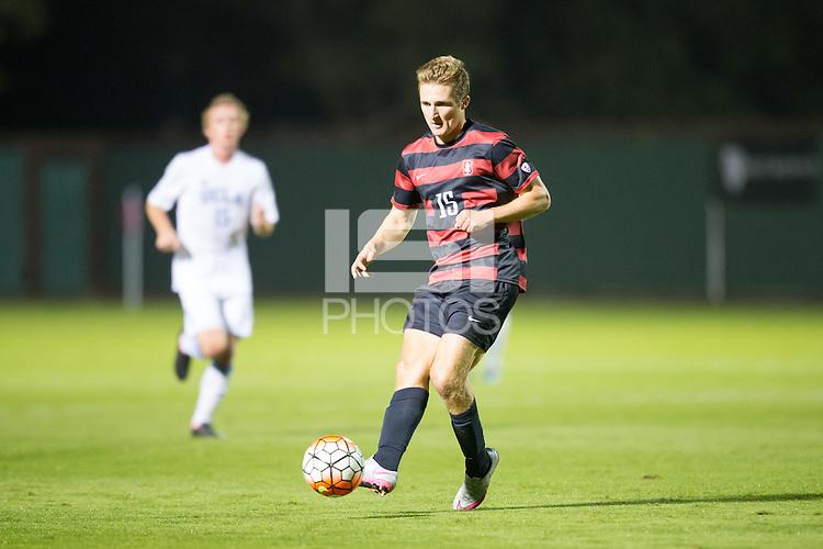 Stanford, CA - October 23, 2015: Stanford Men\'s Soccer vs UCLA.