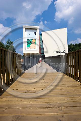 LOUVAIN-LA-NEUVE - BELGIUM - 01 JULY 2009 --The Hergé (Georges Prosper Remi) Museum.  -- PHOTO: Juha ROININEN / EUP-IMAGES