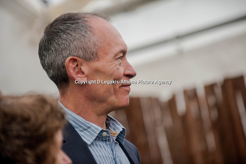 Tuesday 27 May 2014, Hay on Wye, UK<br /> Pictured: AM John Griffiths<br /> Re: The Hay Festival, Hay on Wye, Powys, Wales UK.