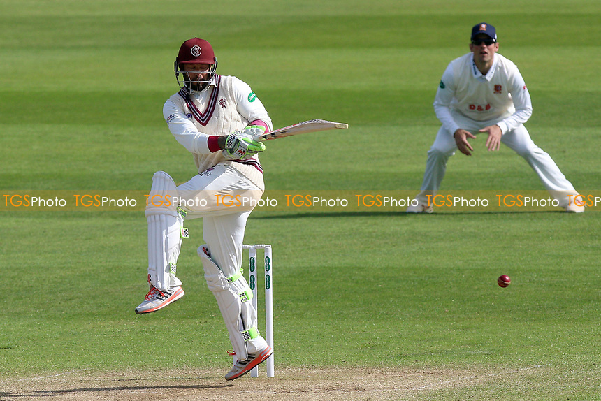 Peter Trego in batting action for Somerset during Somerset CCC vs Essex CCC, Specsavers County Championship Division 1 Cricket at The Cooper Associates County Ground on 15th April 2017