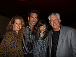 "One Life To Live Matt Walton ""Elijah Clarke"" and wife Alecia Hurst (L) Lisa Goldberg and Gregory Jbara at The Canal Room as it celebrates its 10th Anniversary on September 16, 2013 at ""Back to the 80s Show with Jessie's Girl"" in New York City, New York. (Photo by Sue Coflin/Max Photos)"