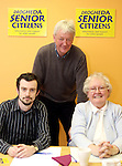 Manager of the Barbican Centre, Paul Hayes with Dave Turner and Nuala Early from Drogheda Senior Citizens at the Barbican Parish Centre Open Day...Photo NEWSFILE/Jenny Matthews.(Photo credit should read Jenny Matthews/NEWSFILE)....This Picture has been sent you under the condtions enclosed by:.Newsfile Ltd..The Studio,.Millmount Abbey,.Drogheda,.Co Meath..Ireland..Tel: +353(0)41-9871240.Fax: +353(0)41-9871260.GSM: +353(0)86-2500958.email: pictures@newsfile.ie.www.newsfile.ie.FTP: 193.120.102.198.