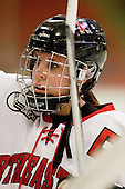 Lindsay Berman (NU - 13) - The Northeastern University Huskies defeated the Boston University Terriers in a shootout after being tied at 4 following overtime in their Beanpot semi-final game on Tuesday, February 2, 2010 at the Bright Hockey Center in Cambridge, Massachusetts.