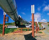 Alaska oil pipeline.