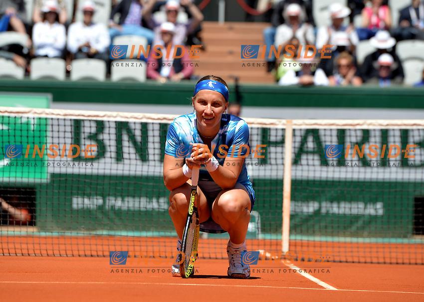Serena Williams (usa) vs Svetlana Kuznetsova (rus) <br /> Parigi 04/6/2013<br /> Tennis Roland Garros <br /> Foto Panoramic / Insidefoto<br /> ITALY ONLY