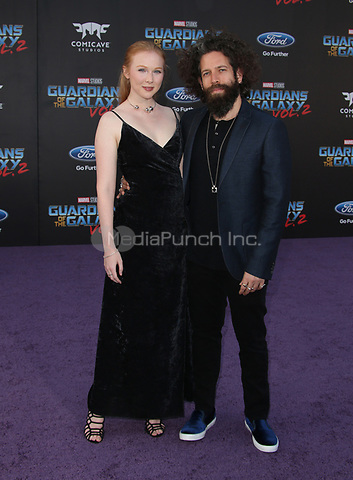 "HOLLYWOOD, CA - April 19: Molly Quinn, Guest, At Premiere Of Disney And Marvel's ""Guardians Of The Galaxy Vol. 2"" At The Dolby Theatre  In California on April 19, 2017. Credit: FS/MediaPunch"